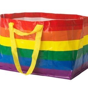 IKEA KVANTING Ltd Ed Rainbow Pride Tote Bag